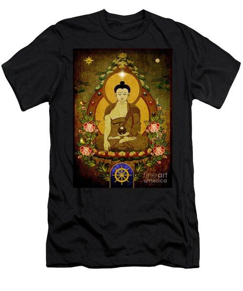 Thangka Painting Men's T-Shirt (Athletic Fit)