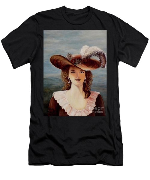That Feather In Her Hat Men's T-Shirt (Athletic Fit)