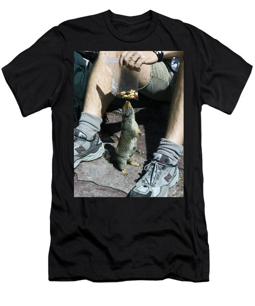 Men's T-Shirt (Slim Fit) featuring the photograph That Smells Good by Sally Weigand