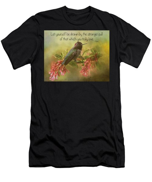 That Which You Truly Love Men's T-Shirt (Athletic Fit)