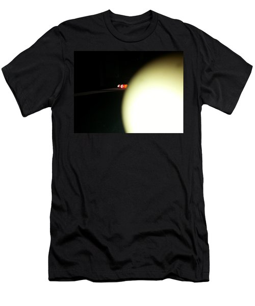 Men's T-Shirt (Athletic Fit) featuring the photograph That's No Moon by Robert Knight