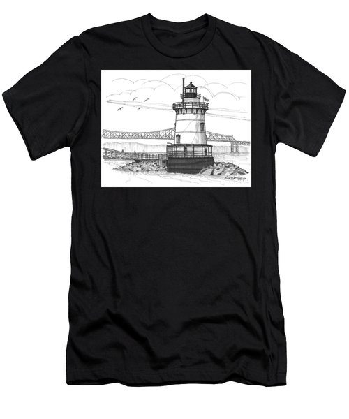 The 1883 Lighthouse At Sleepy Hollow Men's T-Shirt (Athletic Fit)
