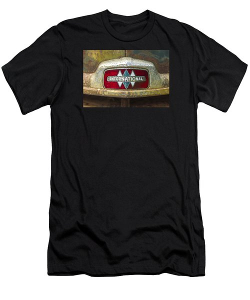 The 1947 International Emblem Ihc Trucks Men's T-Shirt (Athletic Fit)