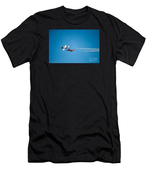 The 2 Snowbirds Men's T-Shirt (Athletic Fit)