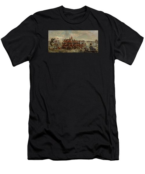 The 28th Regiment At Quatre Bras Men's T-Shirt (Athletic Fit)