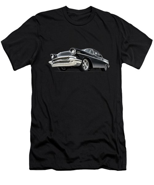 The 57 Chevy Men's T-Shirt (Slim Fit) by Douglas Pittman