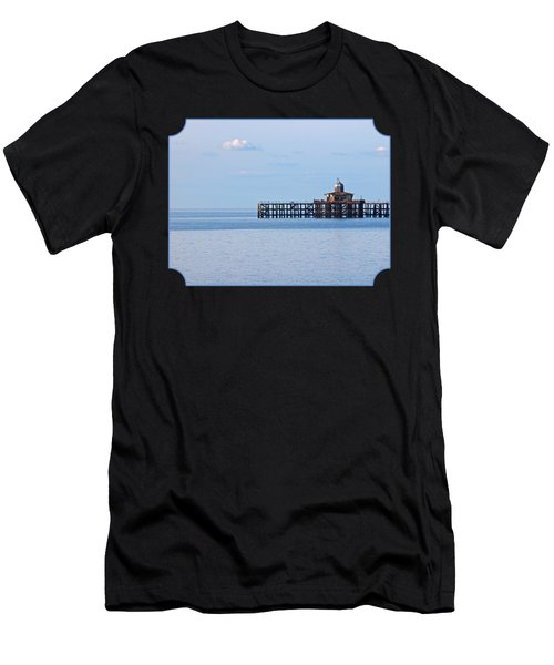 The Abandoned Pier Men's T-Shirt (Athletic Fit)