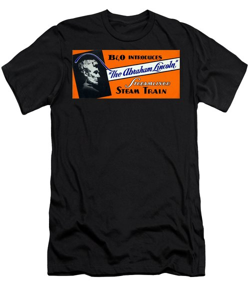 The Abraham Lincoln Men's T-Shirt (Athletic Fit)