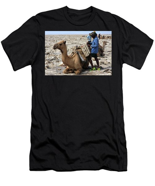 The Afar People  Men's T-Shirt (Athletic Fit)