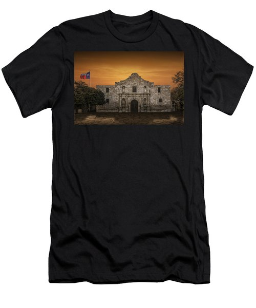 The Alamo Mission In San Antonio Men's T-Shirt (Athletic Fit)