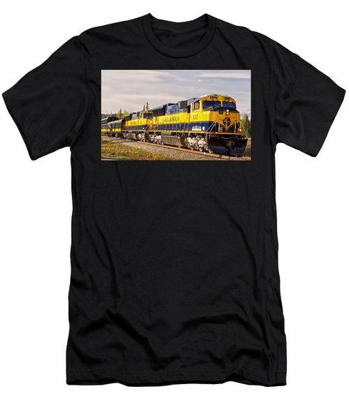 The Alaska Railroad Men's T-Shirt (Athletic Fit)