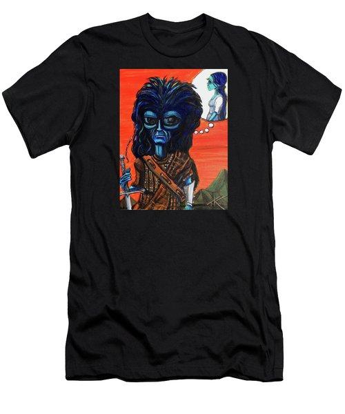The Alien Braveheart Men's T-Shirt (Athletic Fit)