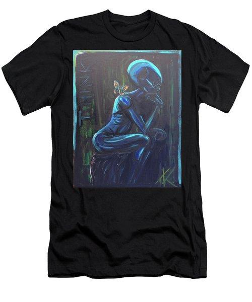 The Alien Thinker Men's T-Shirt (Athletic Fit)