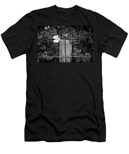The Allotment Project - Dog Rose Men's T-Shirt (Athletic Fit)