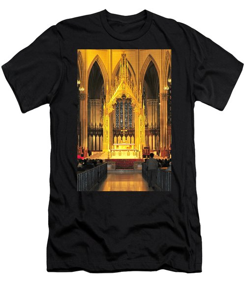 Men's T-Shirt (Slim Fit) featuring the photograph The Alter by Diana Angstadt