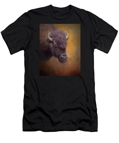 The American Bison II Men's T-Shirt (Athletic Fit)