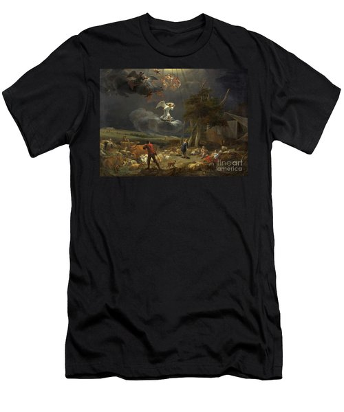 The Annunciation To The Shepherds Men's T-Shirt (Athletic Fit)