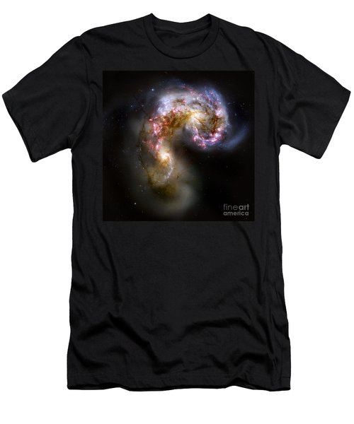 The Antennae Galaxies - Ngc 4038-4039 Men's T-Shirt (Athletic Fit)