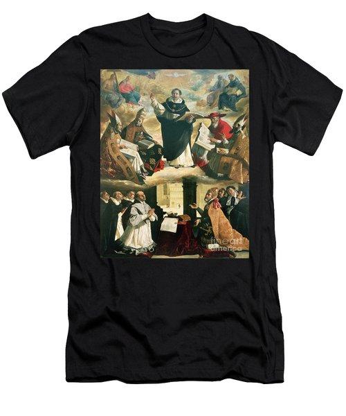The Apotheosis Of Saint Thomas Aquinas Men's T-Shirt (Athletic Fit)