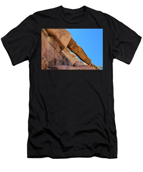 The Arch In Joshua Tree Np Men's T-Shirt (Athletic Fit)