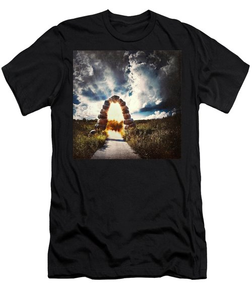 The Arch On The Edge Of Forever Men's T-Shirt (Athletic Fit)