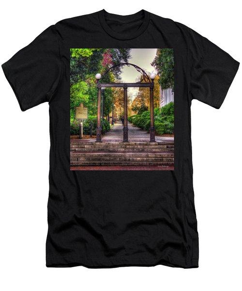 The Arch University Of Georgia Arch Art Men's T-Shirt (Athletic Fit)