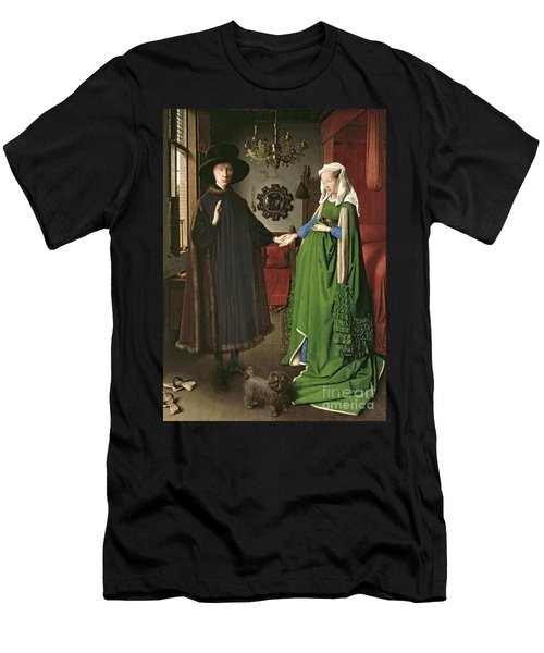 The Arnolfini Marriage Men's T-Shirt (Athletic Fit)