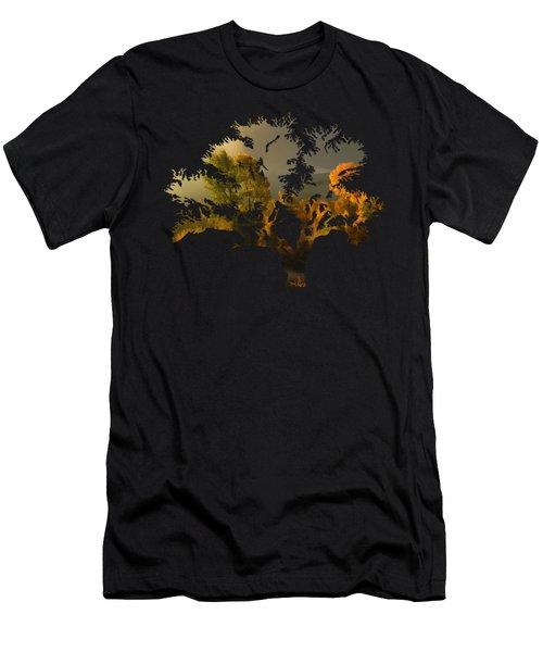 The Autumn Tree Men's T-Shirt (Athletic Fit)