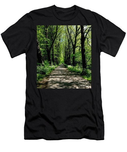 The Avenue Of Limes At Mill Park 3 Men's T-Shirt (Athletic Fit)