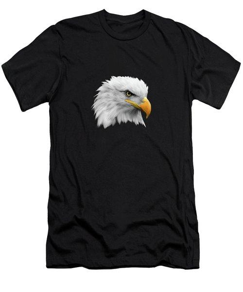 The Bald Eagle Men's T-Shirt (Athletic Fit)