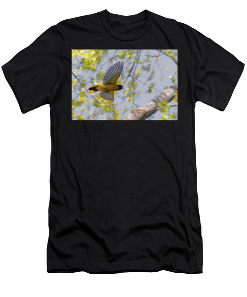 The Baltimore Oriole In-flight Men's T-Shirt (Athletic Fit)