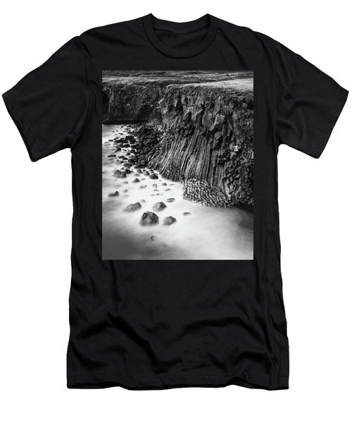 The Basalt Cliff Of Arnarstapi Men's T-Shirt (Athletic Fit)
