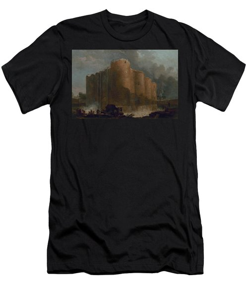 The Bastille In The First Days Of Its Demolition Men's T-Shirt (Athletic Fit)