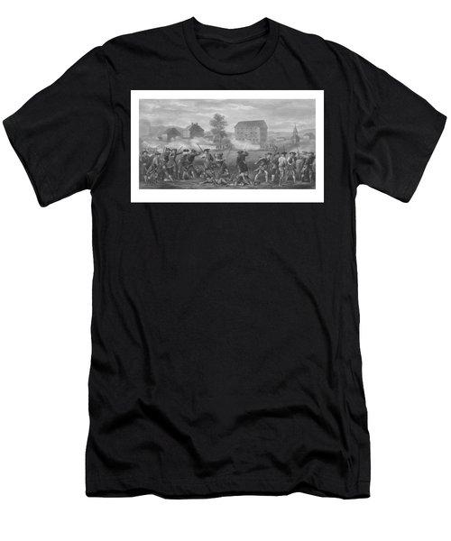 The Battle Of Lexington Men's T-Shirt (Athletic Fit)