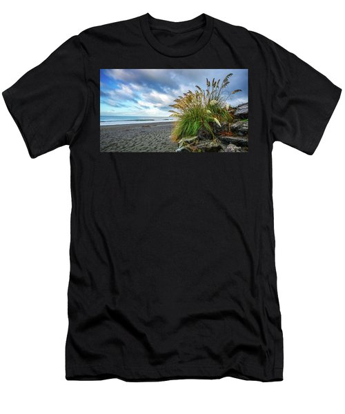 The Beach At Brookings Men's T-Shirt (Athletic Fit)