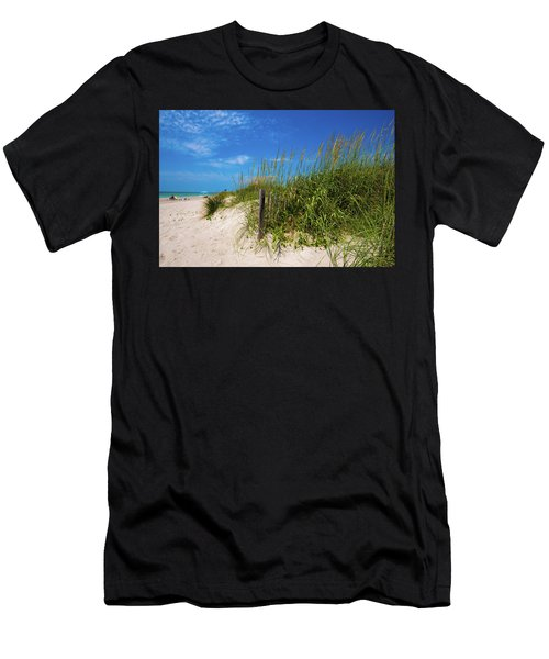 The Beach At Pine Knoll Shores Men's T-Shirt (Athletic Fit)