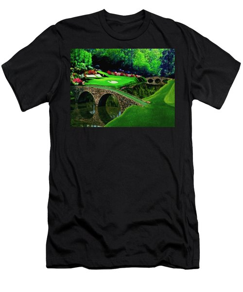The Beauty Of The Masters Cropped Version Men's T-Shirt (Athletic Fit)
