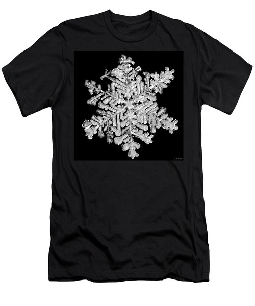 The Beauty Of Winter Men's T-Shirt (Slim Fit) by Lauren Radke