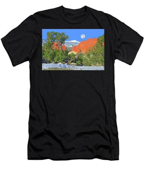 The Beauty That Takes Your Breath Away And Leaves You Speechless. That's Colorado.  Men's T-Shirt (Athletic Fit)