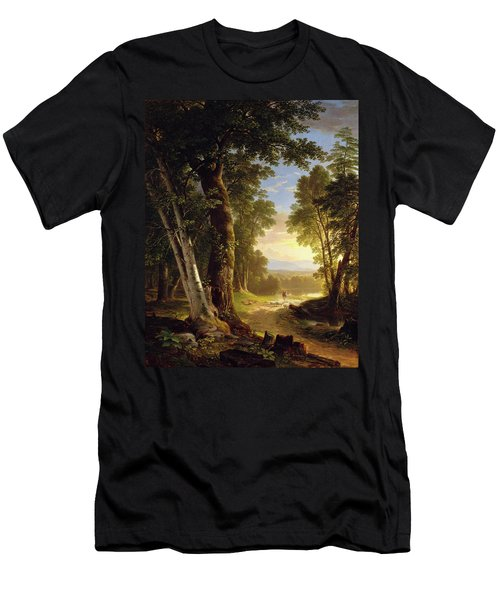 The Beeches By Asher Brown Durand Men's T-Shirt (Athletic Fit)