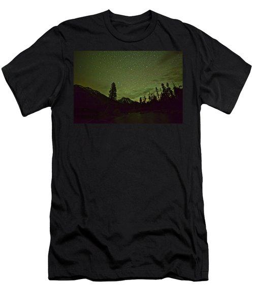 The Big Dipper Over Mount Moran Men's T-Shirt (Athletic Fit)