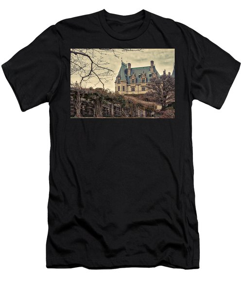 The Biltmore Mansion In The Fall Men's T-Shirt (Athletic Fit)