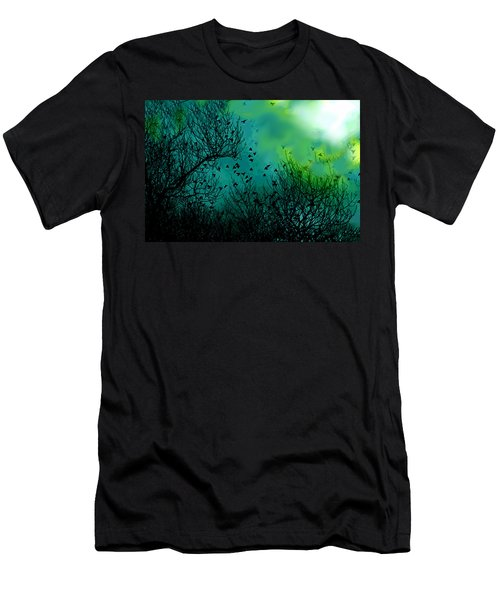 The Birds Of The Air  Men's T-Shirt (Athletic Fit)