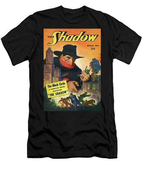The Shadow The Black Circle Men's T-Shirt (Athletic Fit)