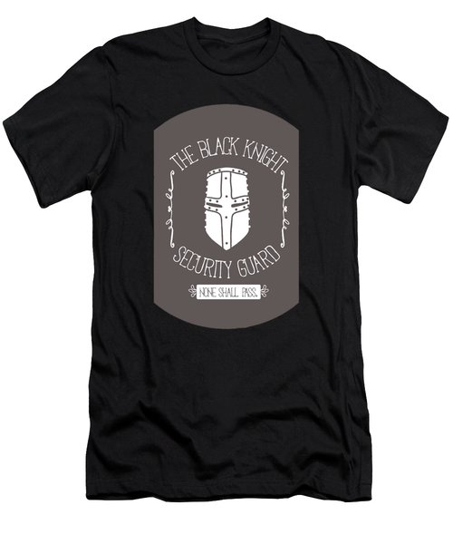 The Black Knight Men's T-Shirt (Slim Fit) by Christopher Meade