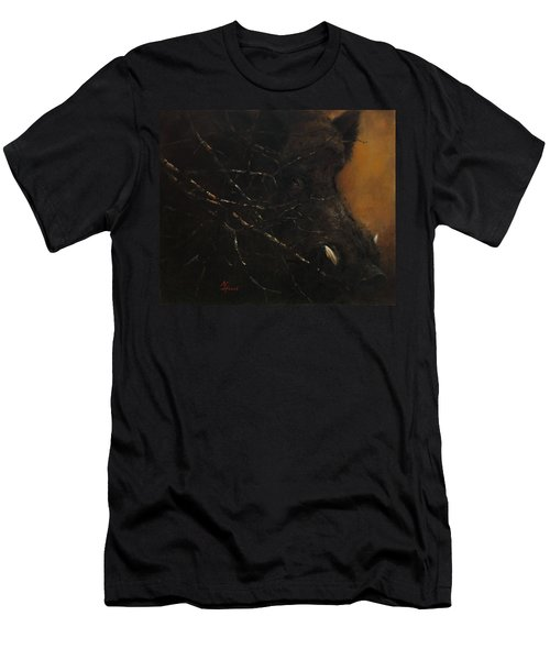 The Black Wildboar Men's T-Shirt (Athletic Fit)
