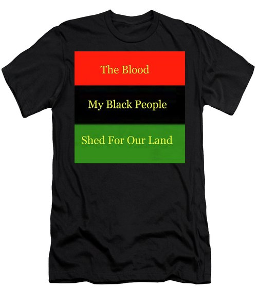 The Blood Men's T-Shirt (Athletic Fit)
