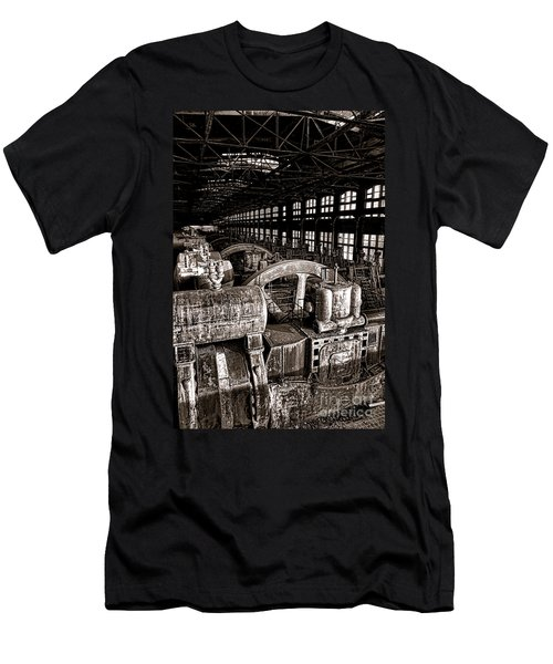 The Blower House At Bethlehem Steel  Men's T-Shirt (Athletic Fit)