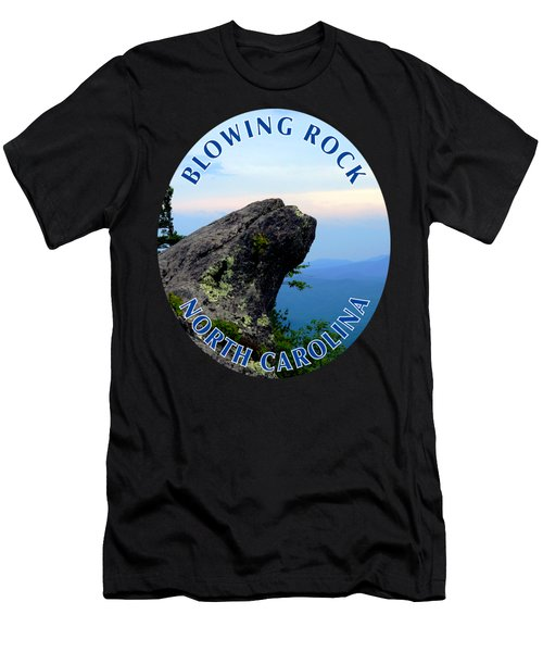 The Blowing Rock T-shirt Men's T-Shirt (Athletic Fit)
