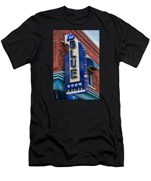 The Blue Room Sign Men's T-Shirt (Athletic Fit)